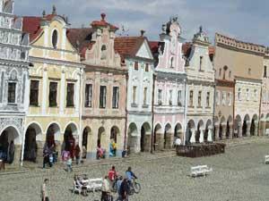 Telč - památka UNESCO